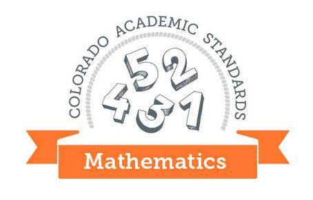 Image of the CO Academic Standards for Math