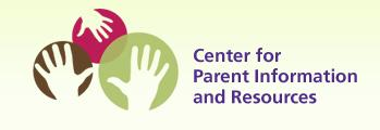 Logo for the Center for Parent Information and Resources