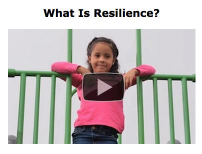 "Screen Shot of a video titled ""What is Resilience?"" from the Center on the Developing Child at Harvard University"