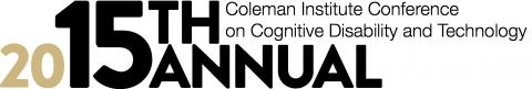 2015 !5th Annual Coleman Institute Conference Logo