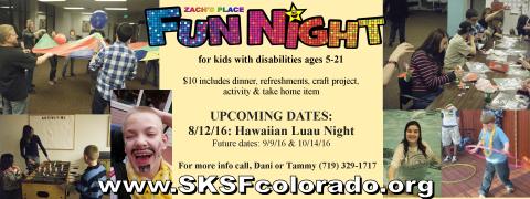 Fun night banner
