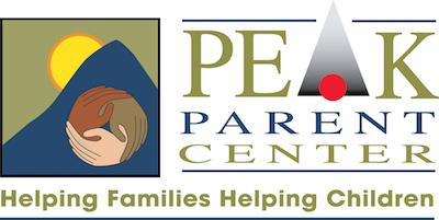 Logo for PEAK Parent Center