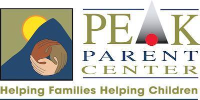 Logo for PEAK Parent Center