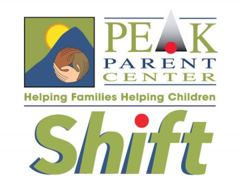 PEAK and Shift Logo