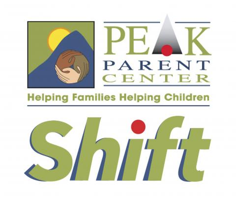PEAK and Shift Logo