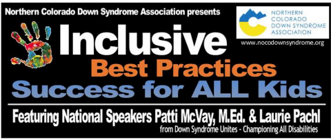 Inclusive Best Practices Success for ALL Kids title