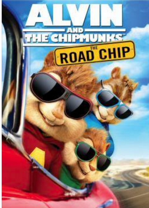 Alvin and the Chipmunks The Road Chip movie flyer