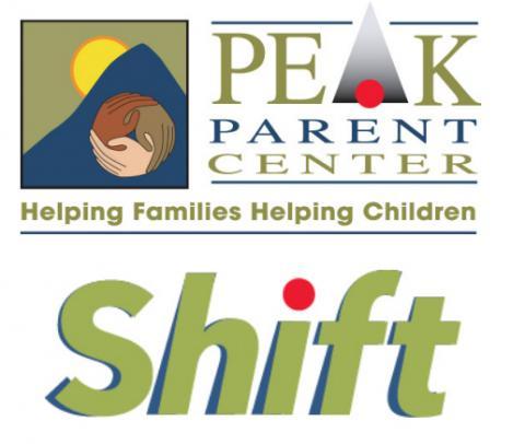 PEAK logo above PEAK's Shift logo
