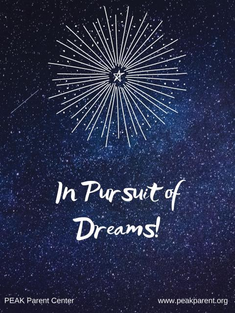In Pursuit of Dreams clip art