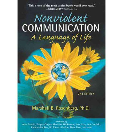 Photo of book cover NonViolent Communication