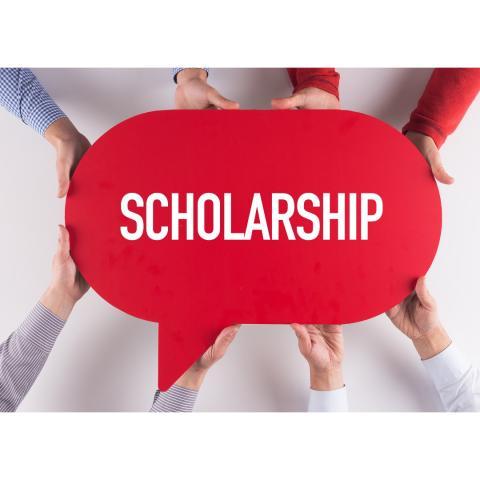 scholarship sign