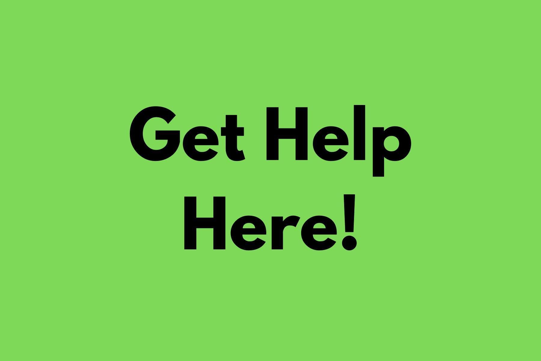 Get Help Clipart