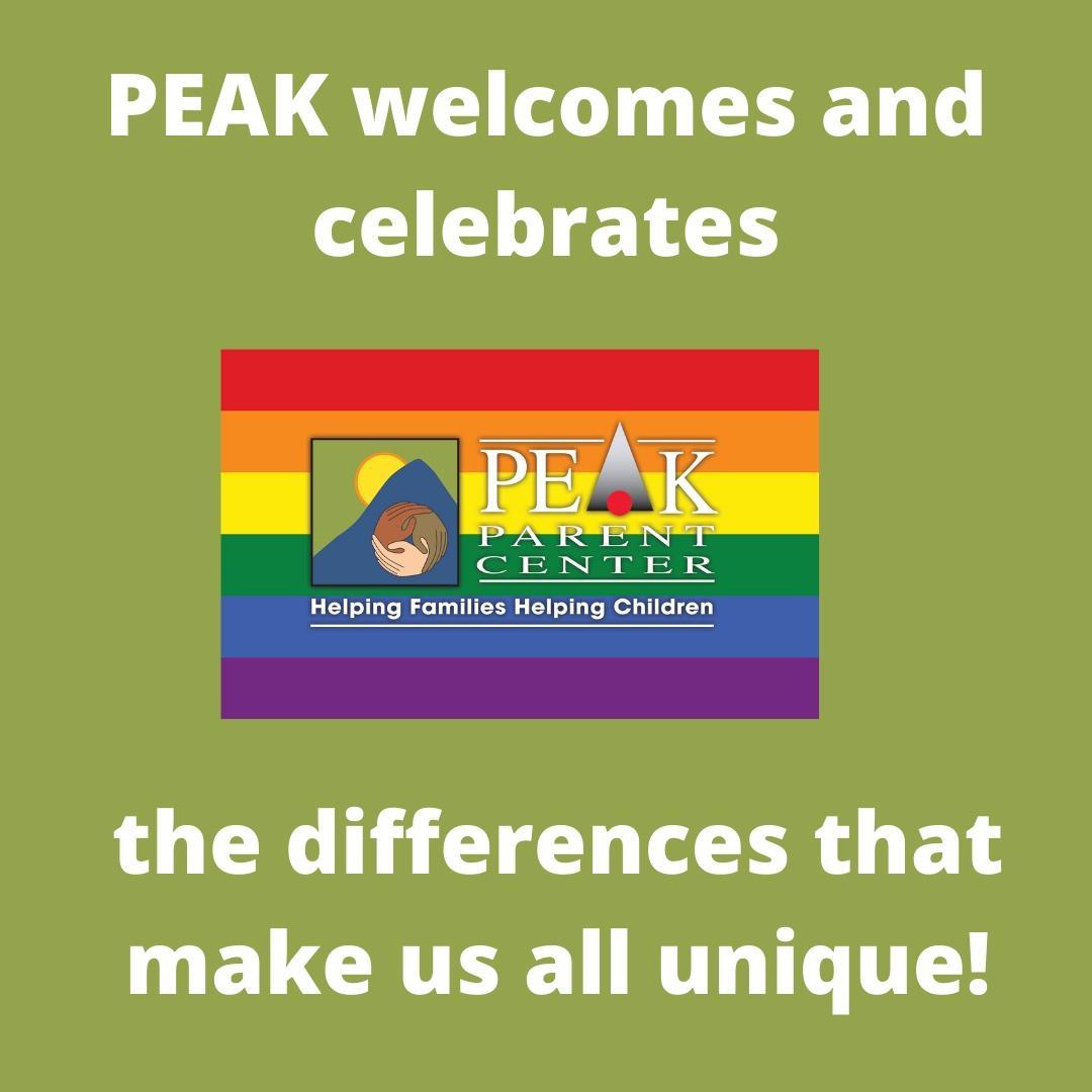 PEAK Welcomes and Celebrates