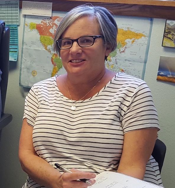 Photo of PEAK Parent Advisor Renee Kleck working