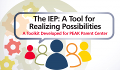 The IEP: A Tool For Realizing Possibilities training logo