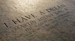 Photo of I Have A Dream from the Lincoln Memorial Grounds